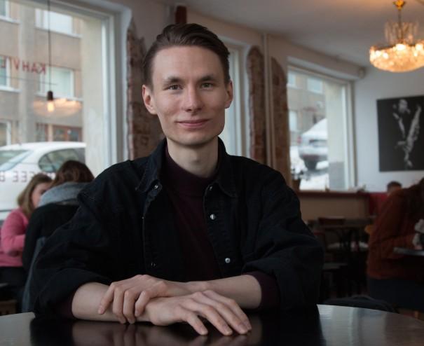Henri Lyysaari. Kuva: Emma Luukkala.